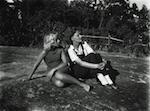 Astrid Lindgren e la figlia Karin