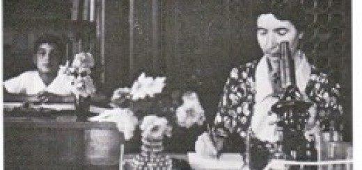 Eva Calvino e figlio