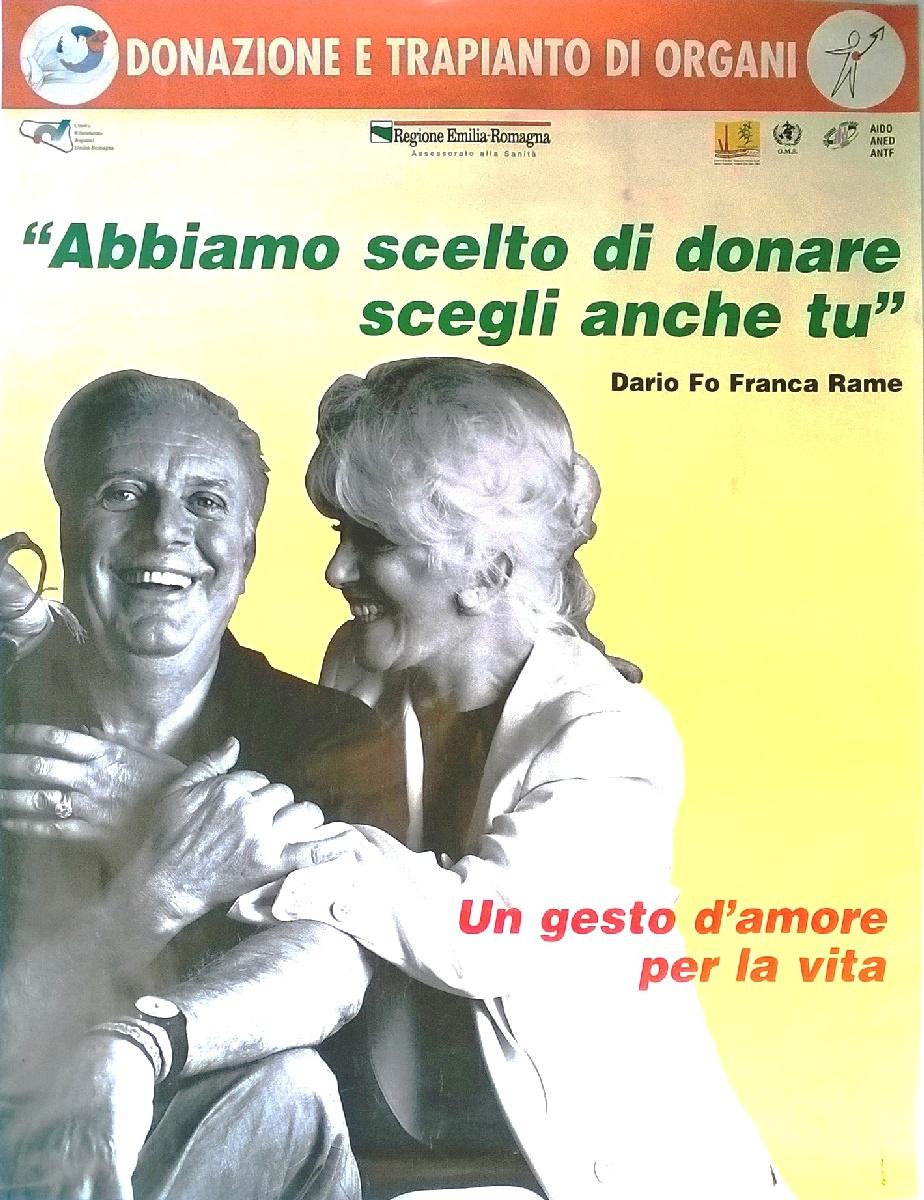 Manifesto 1998 dario fo e franca rame