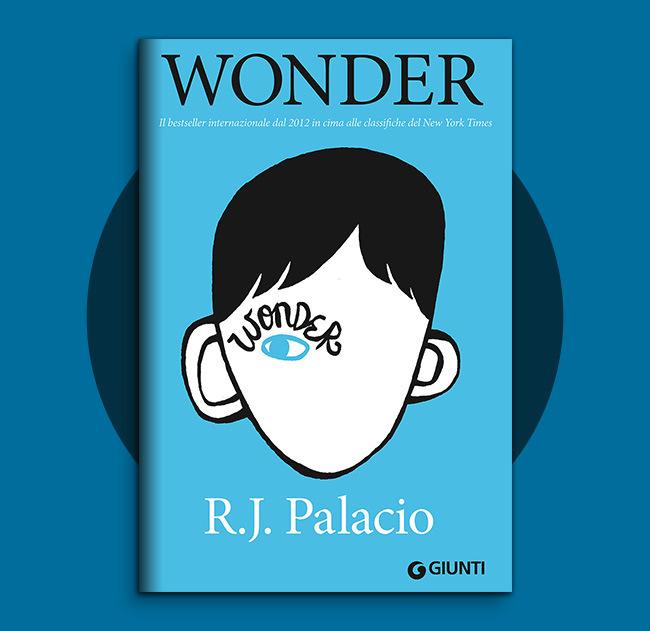 copertina del libro Wonder