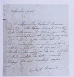 lettera donazione Talanti Erminia