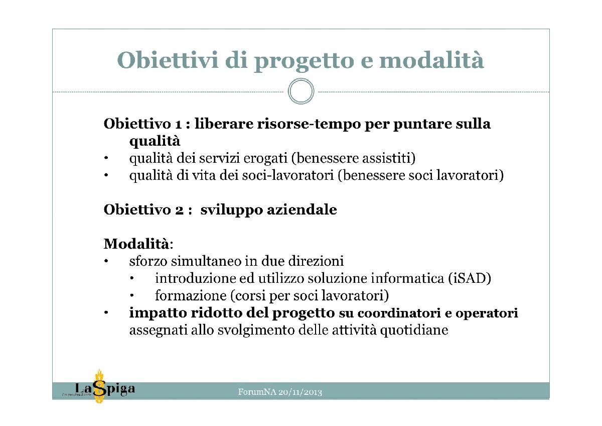 Per Lunga Vita - La cooperativa La Spiga informatizza il ...